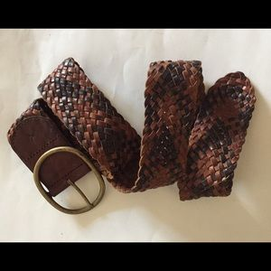 American Eagle Outfitters Accessories - American Eagle outfitters brown braided belt